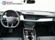 Audi e-tron GT quattro Sport pneumatyczne zawieszenie
